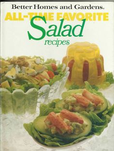 All Time Favorite #Salad Recipe #Book Hardcover #Vintage 1988 Better Homes & Gardens.