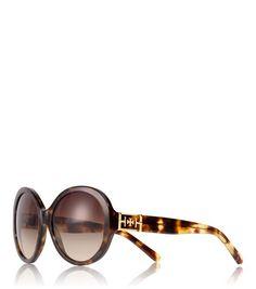 Geo Cat-Eye-Sonnenbrille - 133113 DK TORT