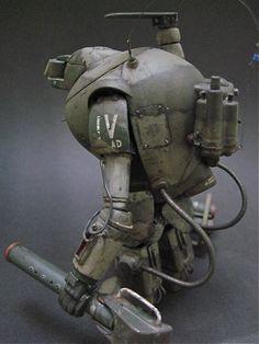 Ma.K. S.A.F.S. Toucan IV 1/20 scale. By Jsan9. #Ma_K #Maschinen_Krieger