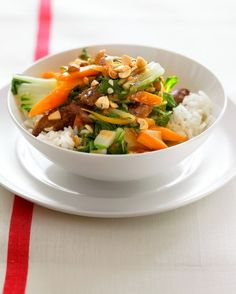 """See the """"Skirt Steak and Bok Choy Stir-Fry"""" in our Quick Better-than-Takeout Recipes gallery"""
