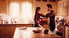 "The Vampire Diaries Season 4 Premiere ""Growing Pains"" - stefan-and-elena Fan Art"