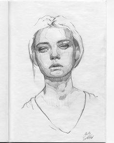(@miro_z_art)  Sketchbook  #face #portrait #sketch #sketching #sketchbook #paper #pencil #draw #drawing #art #artwork #pencilsketch #pencildrawing #pencilart #miro_z #arts_help #beautifulbizarre #artist_4_shoutout #onyxkawai
