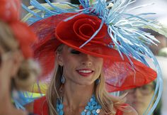 KENTUCKY DERBY 2015 | Nicole Whelan waits for the 141st running of the Kentucky Derby at Churchill Downs Saturday, May 2, 2015, in Louisville, Ky. (AP Photo/David J Phillip) | lehighvalleylive.com