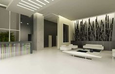 Vestíbulo - Lobby Comedor - Dining room Apart. B Conference Room, Portal, Table, House, Gardens, Furniture, Design, Home Decor, Log Projects