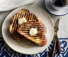 Grilled Vanilla French Toast Recipe | Epicurious.com