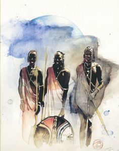 """Warriors"" by James Gayles"