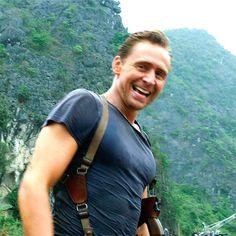 Just Tom Hiddleston... I love those guns