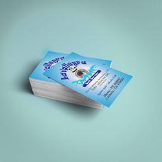 Progettazione e stampa dei biglietti da visita di Lavallegra lavanderia self service