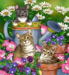Jane Maday. Кошки.. Обсуждение на LiveInternet - Российский Сервис Онлайн-Дневников