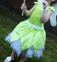 Tutorial: Tinkerbell costume