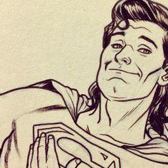 Superman by Joe Quinones