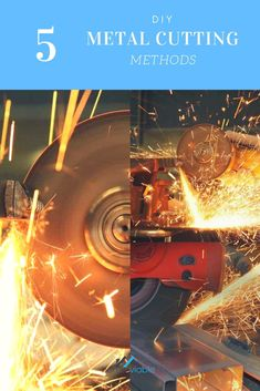 We show you how to cut metal with an angle grinder, circular saw, and dremel, or. - Home Decor -DIY - IKEA- Before After Man Projects, Cool Diy Projects, How To Cut Metal, Workbench Clamp, Metal Pole, Angle Grinder, Circular Saw, Fall Diy, Home Repair