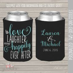 wedding party can coolies coozies for wedding by youreworthit