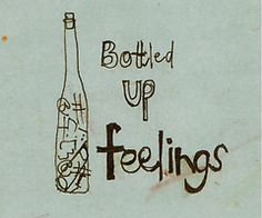 Bottled up Feelings