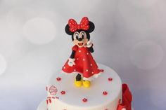 Girls Boarder Minnie Mouse Red//Grey hearts love cake Slippers by Disney