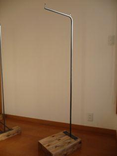 アイアンハンガーラック16 Desk Lamp, Table Lamp, Hanger Rack, Iron Work, Clothes Hanger, Tube, Interior Design, Bedroom, Home Decor