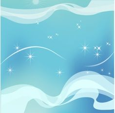 Winter Sky Star Background Vector @freebievectors