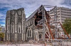 Christchurch cathedral photo by Chook with the looks from Flickr at Lurvely. Despite the earthquake i still want to visit Christchurch one day.