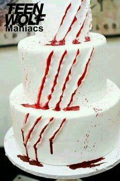Teen wolf cake <3