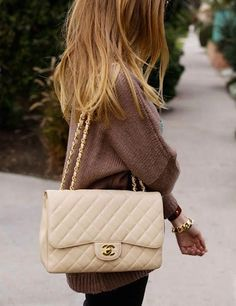 Classic quilted Chanel.