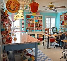 In a perfect world, this would be my craft room.