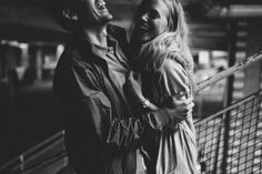 Gritty Swedish Engagement in Stockholm | Agnes Stenlund Photography