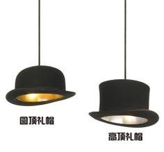Hat round flat restaurant pendant light $38.32