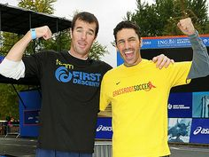 Survivor winner Ethan Zohn was unable to try to qualify for the Boston Marathon this year since he's battling a recurrence of Hodgkin's lymphoma – so his friend, former Bachelorette star Ryan Sutter, is stepping up to the plate. Read More: http://www.people.com/people/article/0,,20586795,00.html