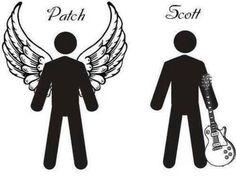 Hush Hush! Nooooooo Scott  I love u Patch