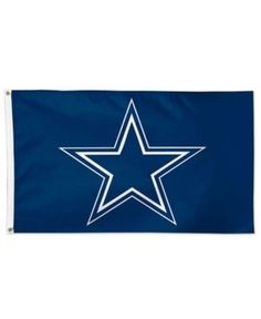 Dallas Cowboys Flag at Pro Flags and Banners Co. your Dallas Cowboys Flag source Dallas Cowboys Flag, Cowboys Stadium, Flag Shop, Blue Flag, Professional Football, Sports Fan Shop, Banner, Banner Stands, Banners