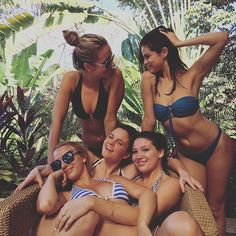 Pin for Later: 15 Selena Gomez Bikinigrams That Inspired us to Throw on a Swimsuit She Untied Her Halter Suit to Stay Carefree