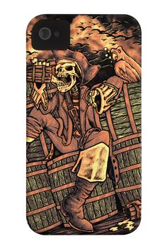 drunken pirate Phone Case for iPhone 4/4s,5/5s/5c, iPod Touch, Galaxy S4