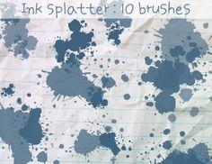200+ Splatter Brushes
