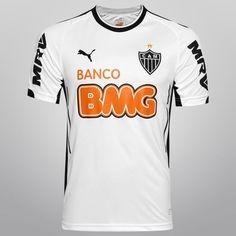 Camisa Puma Atlético Mineiro II 2014 s/nº - Branco