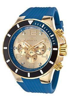 Invicta Men's 18740 Pro Diver Analog Display Swiss Quartz Blue Watch | Smart Pinner