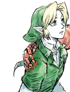 Link and volga's hand...