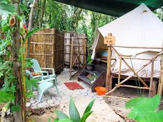 Tents - Palmar Tent Lodge ~ Red Frog Beach ~ Bocas del Toro, Panama