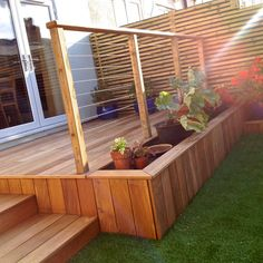 We stock these smooth yellow Balau hardwood boards for decking installations, decking framing detail and timber capping for walls.