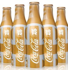 Coca-Cola has created a limited edition bottle in celebration of the London 2012 Olympic Games. Only at Selfridges