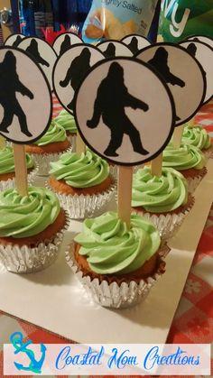 Coastal Mom Creations: Bigfoot Birthday Party