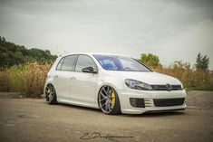 VW Golf mk6 tuning pictures BBS wheels
