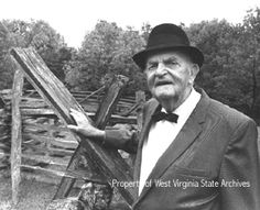 """Hatfield and McCoy feud--Willis Hatfield--last living son of """"Devil Anse"""" at 82 years old.  May 12, 1970"""