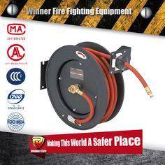 Retractable Air Hose Reel Auto Rewind 38 x  sc 1 st  Pinterest & 96 best fire hose reel images on Pinterest | Fire hose Hose reel ...