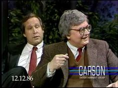 Siskel and Ebert and Chevy Chase on The Tonight Show Starring Johnny Carson