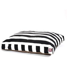 Want this striped dog bed for Miles.