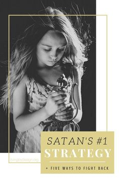 Today I'm sharing three things that make us susceptible to the enemy's schemes and five simple ways to fight back! Satan doesn't fight fair, and he's going to attack when we are feeling injured and isolated. So close ranks. Train the troops. And fight back! #christianliving #christianwoman #biblestudy via @sarahelizkoontz