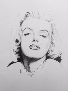 Have a go at this lovely sketch of Marilyn Monroe with Phil and Bob as part of the drawing essentials course coming soon to ArtTutor