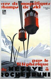 """Megeve""  Michaud - 1935"