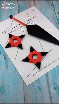 Paper Crafts Origami, Paper Crafts For Kids, Diy Paper, Fun Crafts, Paper Art, Diy And Crafts, Diy Crafts Hacks, Diy Projects, Instruções Origami