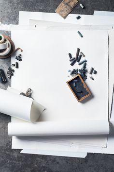 noperfectdayforbananafish: (via STILL LIFE: Art Supplies on Behance) Object Photography, Still Life Photography, Product Photography, Photography Ideas, Still Life Photos, Still Life Art, Art Life, Modern Hepburn, Portrait Art